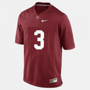 Youth Roll Tide #3 Trent Richardson Red College Football Jersey 790873-771